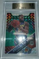 2019-20 Mosaic Lebron James Will To Win Green Reactive Bgs pure gem mint 4x 9.5