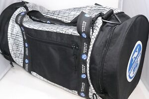"""North Sails Large Duffle Bag Sailcloth Gym Travel Carry On 27"""" Long 13"""" Diameter"""