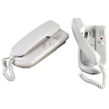 2 WAY TALKING TELEPHONE INTERCOM SYSTEM HOME OFFICE FACTORY