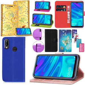 For Honor 10 Lite New Stylish Shockproof PU Leather Wallet Flip Stand Case Cover