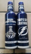 Bud Light Lightning Stanley Cup special edition bottles empty