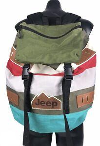 JEEP Urban Backpack/Rucksack (Colourful)
