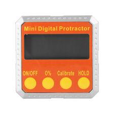 360° Digital Inclinomètre Protrateur électronique Angle Compteur Base Magnétique