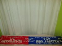 "1.FC Kaiserslautern/TSV 1860 München Schal ""SUPER 1.FC KAISERSLAUTERN SUPER TSV"""