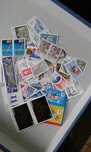 timbres en franc neuf pour affranchissement 25€uros pour 18 €uros port gratuit
