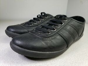 ComfortView Womens Shoes Black Size 8WW  Comfort Elastic Lace Slip On Athletic