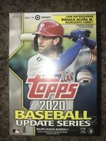 TARGET EXCLUSIVE - 2020 Topps Update Series Baseball Blaster Box *Factory Sealed