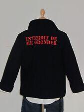 Superbe caban matelasé INTERDIT DE ME GRONDER -Neuf / étiquette - Taille : 6 ans
