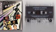 BLACK MAGIC LEGENDS - CASSETTE TAPE ALBUM (MAJOR LANCE,MAXINE BROWN,BEN E KING,B