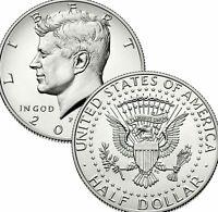 2010 P&D President Kennedy Half Dollar Fifty Cent Coin U.S. Mint Roll Money