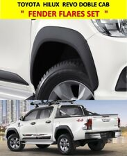 GENUINE TOYOTA HILUX REVO M70 80 2016 DOUBLE CAB BLACK FENDER FLARES WHEEL ARCH