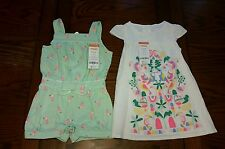 NWT-2 piece Gymboree Island Cruise jumper and dress, size 12-18 months