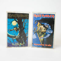 Iron Maiden: No Prayer For The Dying 1990 & Fear of the Dark 1992 Cassette Tapes