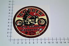 BOBBER OLD SCHOOL MOTORCYCLES Aufkleber Sticker Motorrad Custom Bike Kreuz Mi086