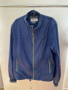 GEOX RESPIRA Windbreaker Jacke Größe 54 blau