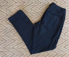Lululemon Men's Solid Black ABC Casual Trouser Pants - Sz 32 Medium M