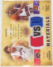 2009/10 Shaquille O'Neal/Bargnani Upper Deck Dual Materials Card #VS-AO #/600 NM