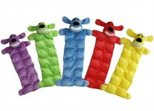 Multipet - 12in Loofa Dog Squeak Mat - Assorted Colors  (Sold Individually)