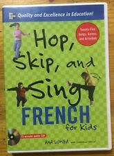 Hop, Skip, and Sing French for Kids by Ana Lomba and Dominique Wenzel (2006)