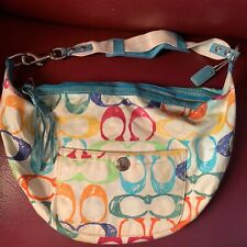 Authentic COACH Colorful Shoulder Bag