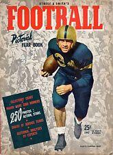 1942 Street & Smith's Football Pictorial Yearbook magazine, Allen Cameron, Navy