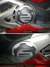 2 adesivi in resina gel 3D protezioni carter scooter compatibili Honda Forza 750