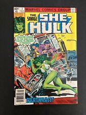 The Savage She-Hulk 2 NM/M 9.4 1st Dan Zapper Bronze Marvel Mar/1980