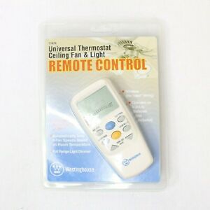 Westinghouse 7787400 - Thermostat Ceiling Fan and Light Remote Control NEW