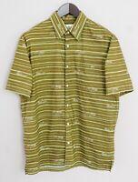 Men Lacoste Casual Shirt Devanlay Short Sleeves Cotton 41 L XMS252