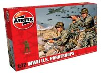 AIRFIX® 1:72 WW2 U.S PARATROOPS MODEL INFANTRY KIT AMERICAN SOLDIERS A00751