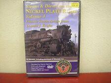 Steam & Diesel On The Nickel Plate Road Vol 4 DVD Herron Rail Video NKP Krofta