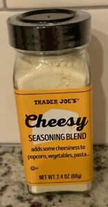 TRADER JOE'S CHEESY SEASONING BLEND-2.4 OZ.-NEW!