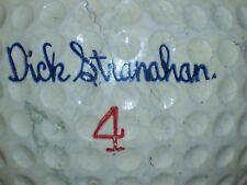 1962 DICK STRANAHAN #4 SEARS SIGNATURE LOGO GOLF BALL