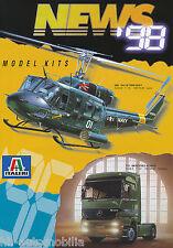 Italieri News Prospekt 1998 Model Kits brochure Broschüre Bausätze Katalog