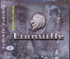 LIONVILLE Lionville + 3 JAPAN CD Work Of Art Stefano Lionetti Alessandro D. V.