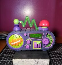 Nickelodeon Time Blaster Slime Digital Alarm Clock Vintage 1995 Tested & Working