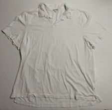 Official James Perse Basic White Cotton Collared Shirt USA Made XL GREAT Cond.