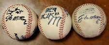 (3) 2006 Eugene Emeralds autographed baseball Unkown Autographs San Diego Padres