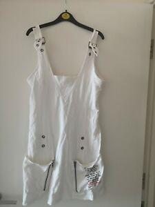 White Dress Size M Summer