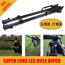 "Xhunter Super Long Leg Shooting Swivel Rifle Gun Bipod w/POD-LOC Pivot 16""- 27"""