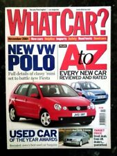 November What Car? Cars, 2000s Magazines