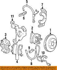 Pontiac GM OEM 94-98 Bonneville Brake-Front-Brake Hose Bracket Left 25609727