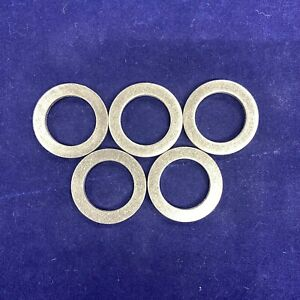 Set of 5: New OE Spec Engine Oil Drain Plug Aluminum Gaskets For 94109-12000