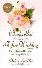 Check List for a Perfect Wedding, 6th Edition (Paperback or Softback)