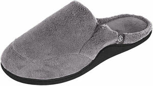 Istotoner Men's Microterry Clogs, Charcoal Large (9.5-10.5)