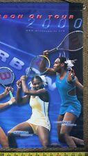 Tennis Player 3' Banner Advertising Wilson Racquet Ball Serena Williams Poster