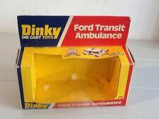 Dinky Toys Original Empty Box Food Transit Ambulance