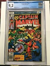 Captain Marvel 50 CGC 9.2 White Pages 1st Appearance of Dr. Minerva #2106738004