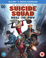 Suicide Squad: Hell to Pay DVD (2018) Sam Liu cert 15 ***NEW*** Amazing Value