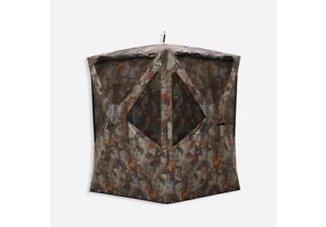 New Barronett Prowler 300 Tall Pop-Up Portable Hunting Blind Woodland Camo
